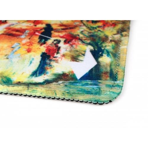 Коврик Gembird MP-ART5 для мыши серия ПИРС 220*180*1мм ткань плюс резина